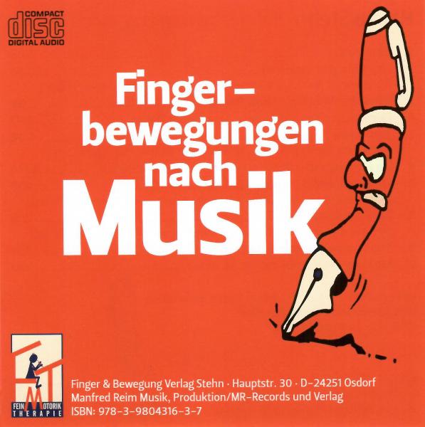 Fingerbewegungen nach Musik